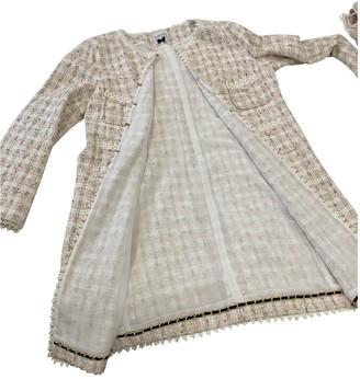 Edward Achour Beige Tweed Jacket for Women