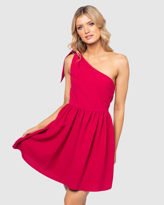 Pilgrim Women's Red Mini Dresses - Marli Dress - Size One Size, 6 at The Iconic