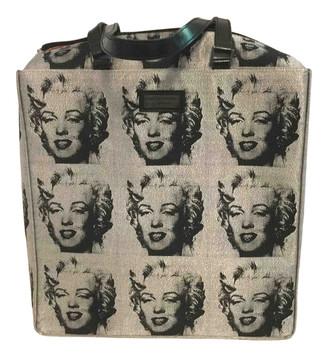 Philip Treacy Silver Cloth Handbags