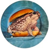 Seletti Wears Toilet Paper Toad Burger Printed Porcelain Dish