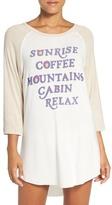 Junk Food Clothing Graphic Jersey Sleep Shirt