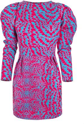 Cosel Dress Pink Wave Safari