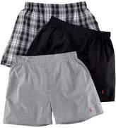 Polo Ralph Lauren Classic Woven Boxer 3-Pack, L