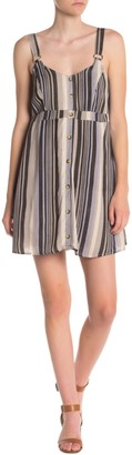 Short Striped Jumper Dress