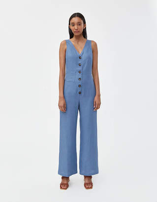 Paloma Wool Alana Jumpsuit in Soft Blue