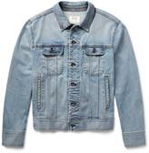 Rag & Bone Standard Issue Washed Stretch-Denim Jacket