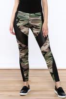 Julia Camouflage Print Leggings