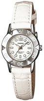 Casio Women's Core LTD2001L-7A1V Leather Quartz Watch