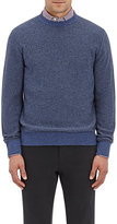Luciano Barbera Men's Mélange Cashmere Sweater-LIGHT BLUE