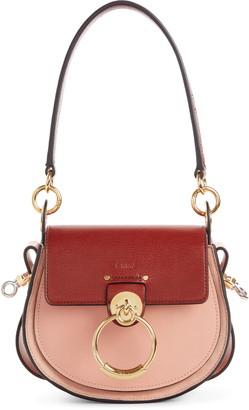 Chloé Small Tess Colorblock Leather Shoulder Bag
