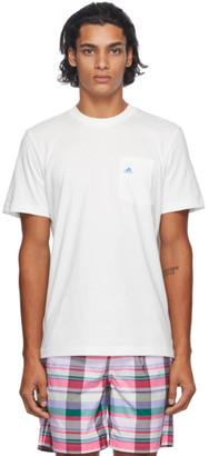 Noah NYC White adidas Originals Edition Shell Logo Pocket T-Shirt