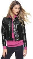 Juicy Couture Vinyl Crinkled Jacket