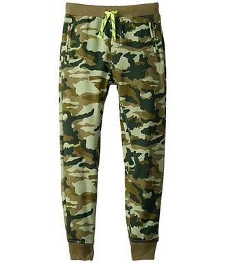 J.Crew Crewcuts By crewcuts by Slim Slouchy in Camo Pants (Toddler/Little Kids/Big Kids) (Olive/Green) Girl's Casual Pants