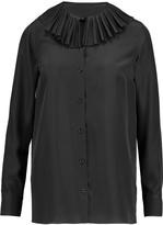 Sonia Rykiel Ruffled silk shirt