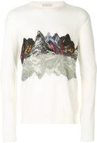 Etro mountain print jumper - men - Wool - S