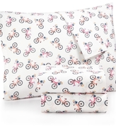 Martha Stewart Whim by Collection Novelty Print King 4-pc Sheet Set, 200 Thread Count 100% Cotton Percale, Created for Macy's