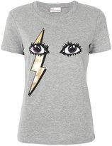 RED Valentino glitter eyes T-shirt