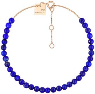 ginette_ny Mini Maria Lapis Beaded Bracelet - Rose Gold