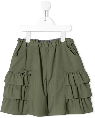 Familiar Ruffled Shorts