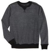 Tucker + Tate Boy's Reverse Crewneck Sweatshirt
