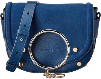 See by Chloe Mara Leather & Suede Shoulder Bag