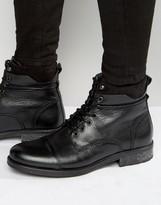 Aldo Niman Leather Laceup boots