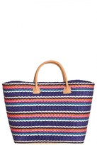 CALYPSO PRIVATE LABEL Provence Woven Stripe Tote