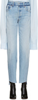 Vetements Blue Reworked Jeans