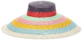 Missoni Mare Striped straw hat