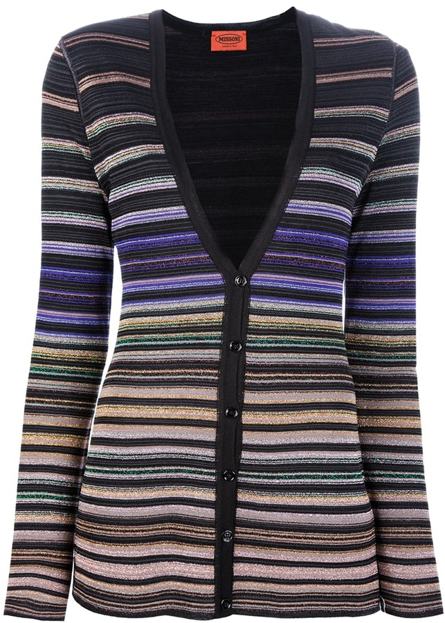 Missoni striped KNIT cardigan