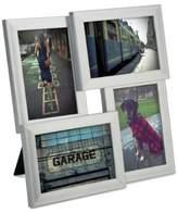 Umbra Pane 4-Opening Desktop Collage Frame, 4x6, Nickel