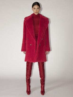 Max Mara Lvr Exclusive Adenia Alpaca Teddy Coat