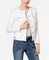 INC International Concepts Denim Trucker Jacket, Only at Macy's
