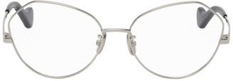 Loewe Silver Cat-Eye Glasses