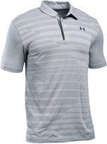 Under Armour Men's CoolSwitch Pieced Striped Performance Polo