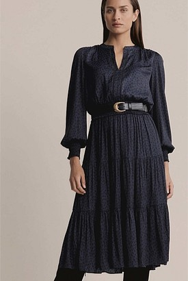 Witchery Smocked Trim Dress