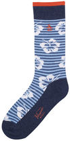 Original Penguin Hibiscus Stripe Sock