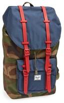 Herschel Men's Little America Backpack - Green
