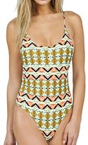 Volcom Women's Native Drift 1pc Bathing Suit