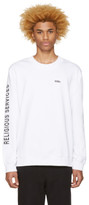 032c White Religious Services Sweatshirt