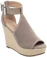 Marc Fisher Allison Perforated Espadrille Platform Sandal