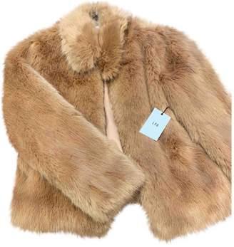 LPA Pink Faux fur Coat for Women