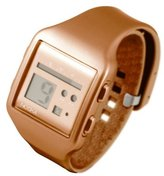 Nooka Unisex ZUB-ZOO-BZ-20 Zub Zoo Bronze Polyurethane Watch