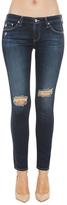AG Denim AG Jeans The Legging Ankle in 4 Years Fog