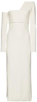 Proenza Schouler One-shoulder stretch-knit midi dress