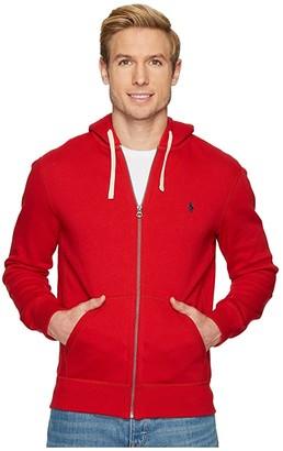 Polo Ralph Lauren Classic Fleece Full-Zip Hoodie (Light Sport Heather) Men's Sweatshirt