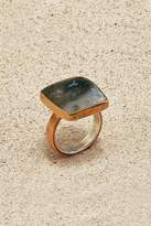 Mr. Blackbird Copper Agate Mug Ring