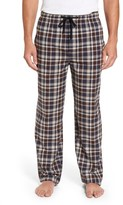 Majestic International Men's Bryson Plaid Flannel Lounge Pants