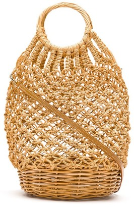 Serpui Marie Macrame Bucket Bag