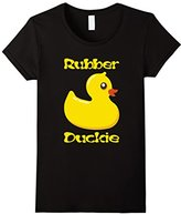 Rubber Duckie T-Shirt Ducky Duck Bath Toy Graphic Tee